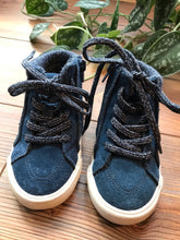 Load image into Gallery viewer, Zara Blue Suede High Top