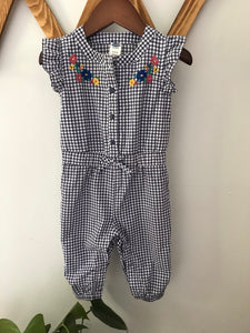 Old Navy Gingham Jumpsuit