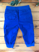 Load image into Gallery viewer, Gymboree Blue Cargo Joggers