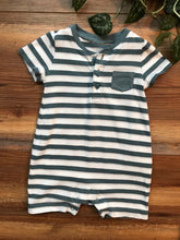 Load image into Gallery viewer, Baby Gap Stripe Shorty Romper