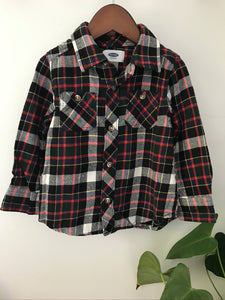 Old Navy Flannel Top