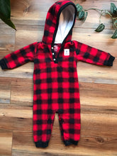 Load image into Gallery viewer, Carter's Fleece Jumpsuit