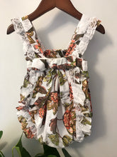 Load image into Gallery viewer, Lil Lemons Floral Romper