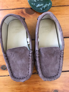 Janie and Jack Suede Leather Loafers