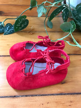 Load image into Gallery viewer, Mayoral Red Suede Mary Jane Shoes