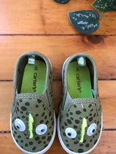 Load image into Gallery viewer, Carter's Lizard Slip-on Shoes