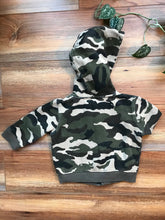 Load image into Gallery viewer, Hurley Camo Hoodie