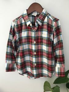 Baby Gap Flannel Top