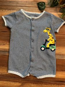 Carter's Giraffe Shorty Romper
