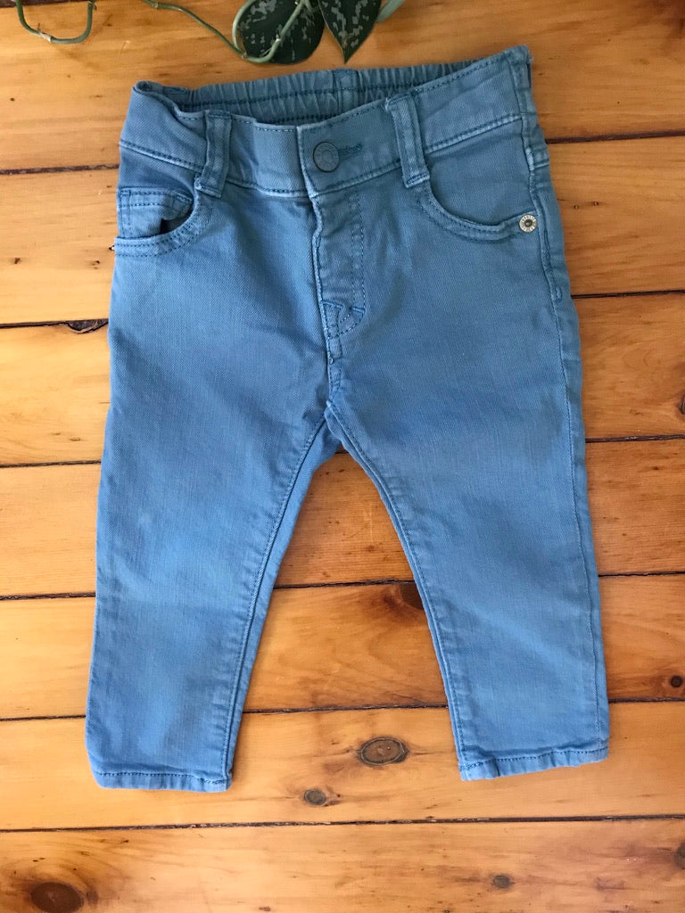 Gymboree Blue Stretch Skinny Jeans