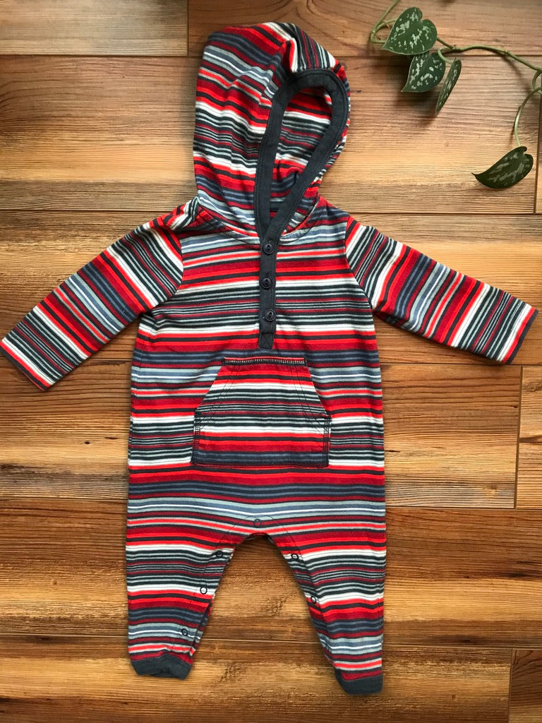 Tea Collection Stripe Hoodie Jumpsuit
