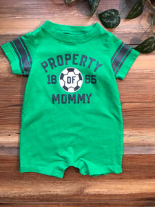 Carter's Shorty Romper Set