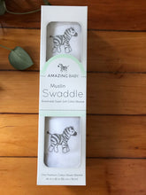 Load image into Gallery viewer, Amazing Baby Muslin Swaddle