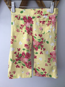 Janie and Jack Floral Capri Pants