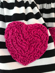 Bonnie Baby Hearts and Stripes Set