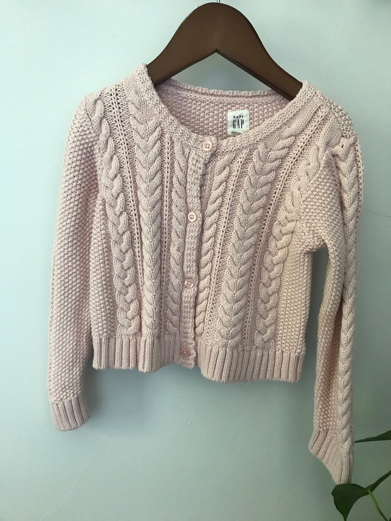 baby Gap Cable Knit Cardigan