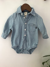 Load image into Gallery viewer, Osh Kosh Chambray Onesie