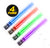LIGHTSABER CHOPSTICKS LIGHT UP STAR WARS LED Glowing Light Saber Chop Sticks REUSABLE Sushi Lightup Sabers 4 Pairs