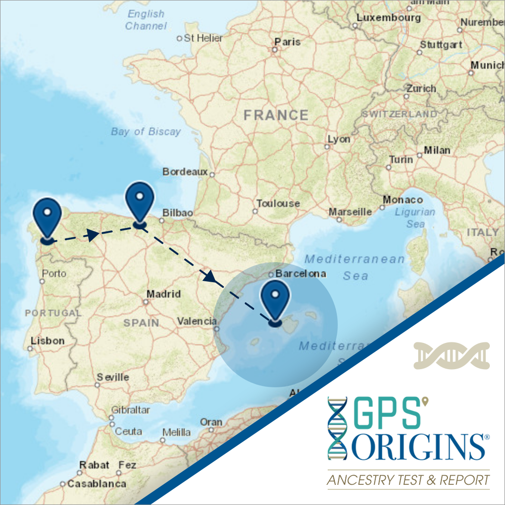 GPS Origins Ancestry DNA Test