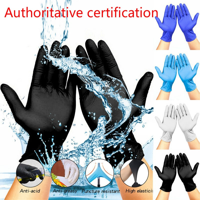 100 Units - Disposable Gloves Latex