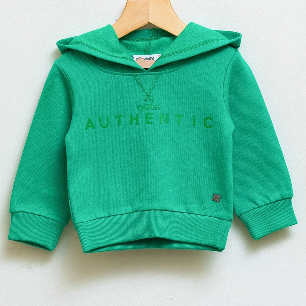 Basic sweatshirt - Dark green