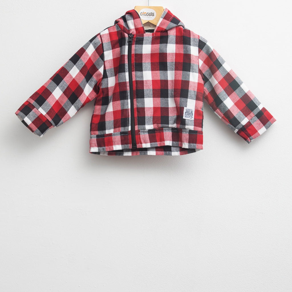 over shirt - Red carr