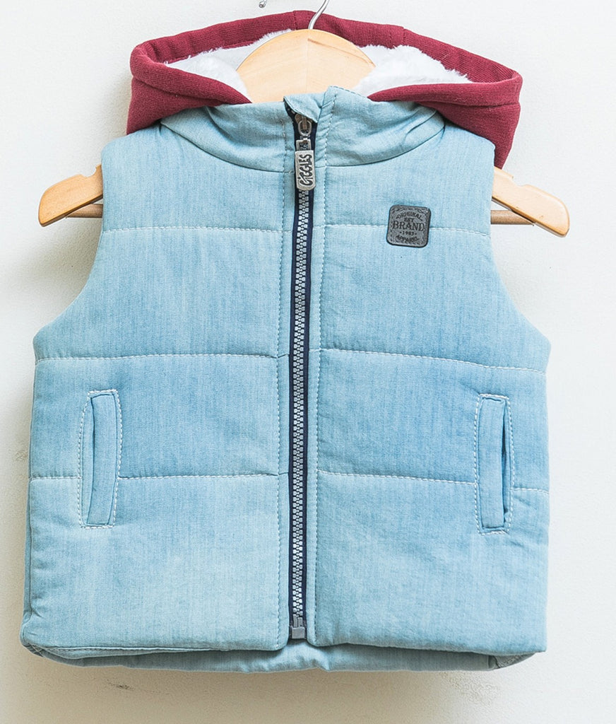 Gillet - Light denim