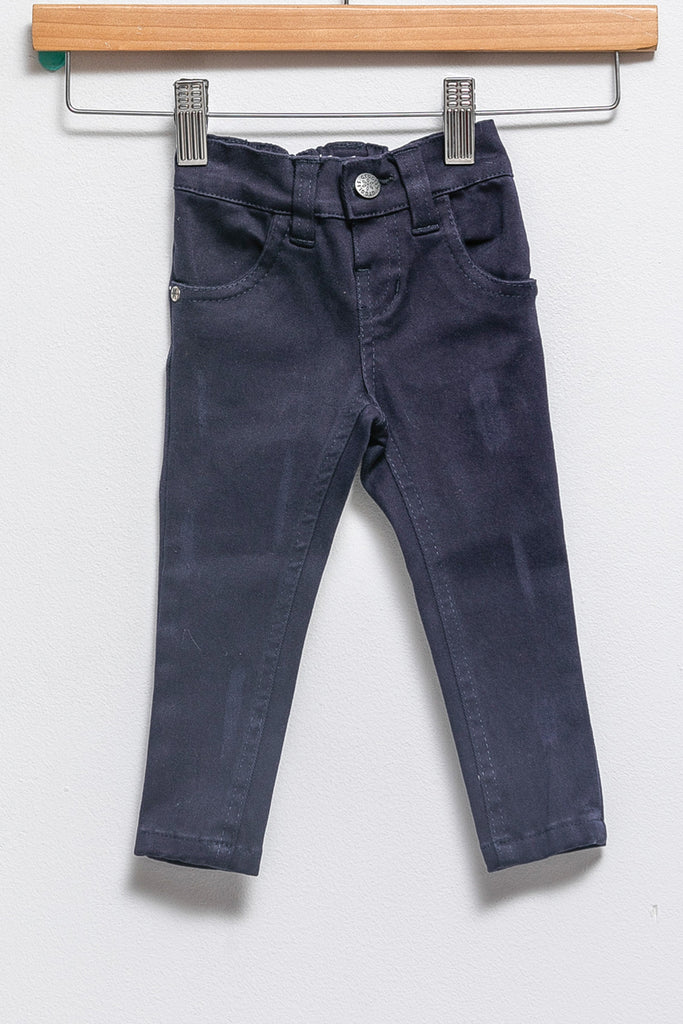 woven pants - New navy