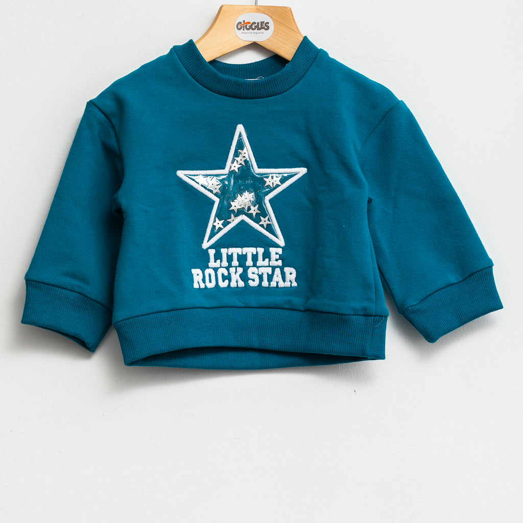 sweatshirt - Dark aqua