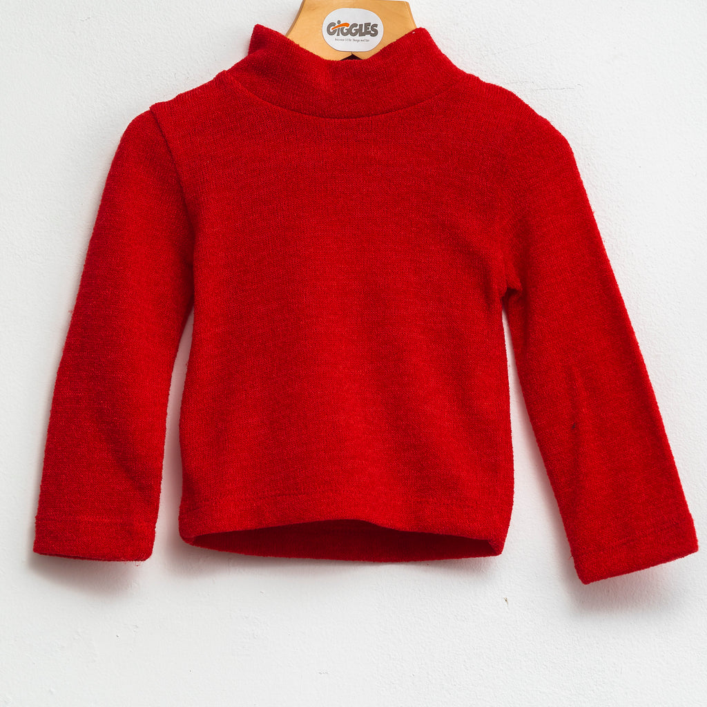 Knit basic - Red