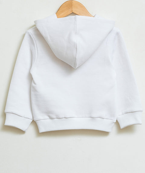 Basic sweatshirt - White