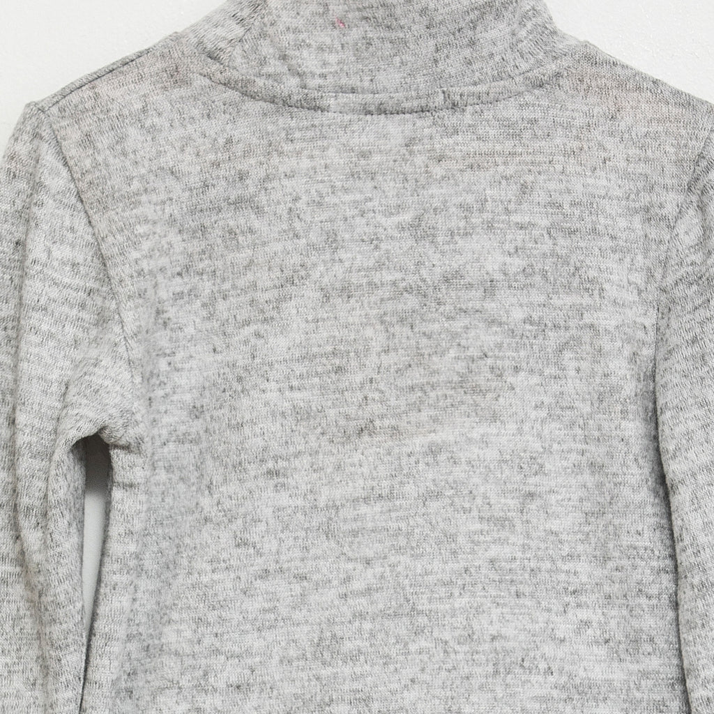 Knit basic - Grey chine