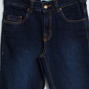 Denim dark pants