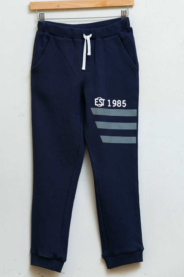 Knit pants - New navy