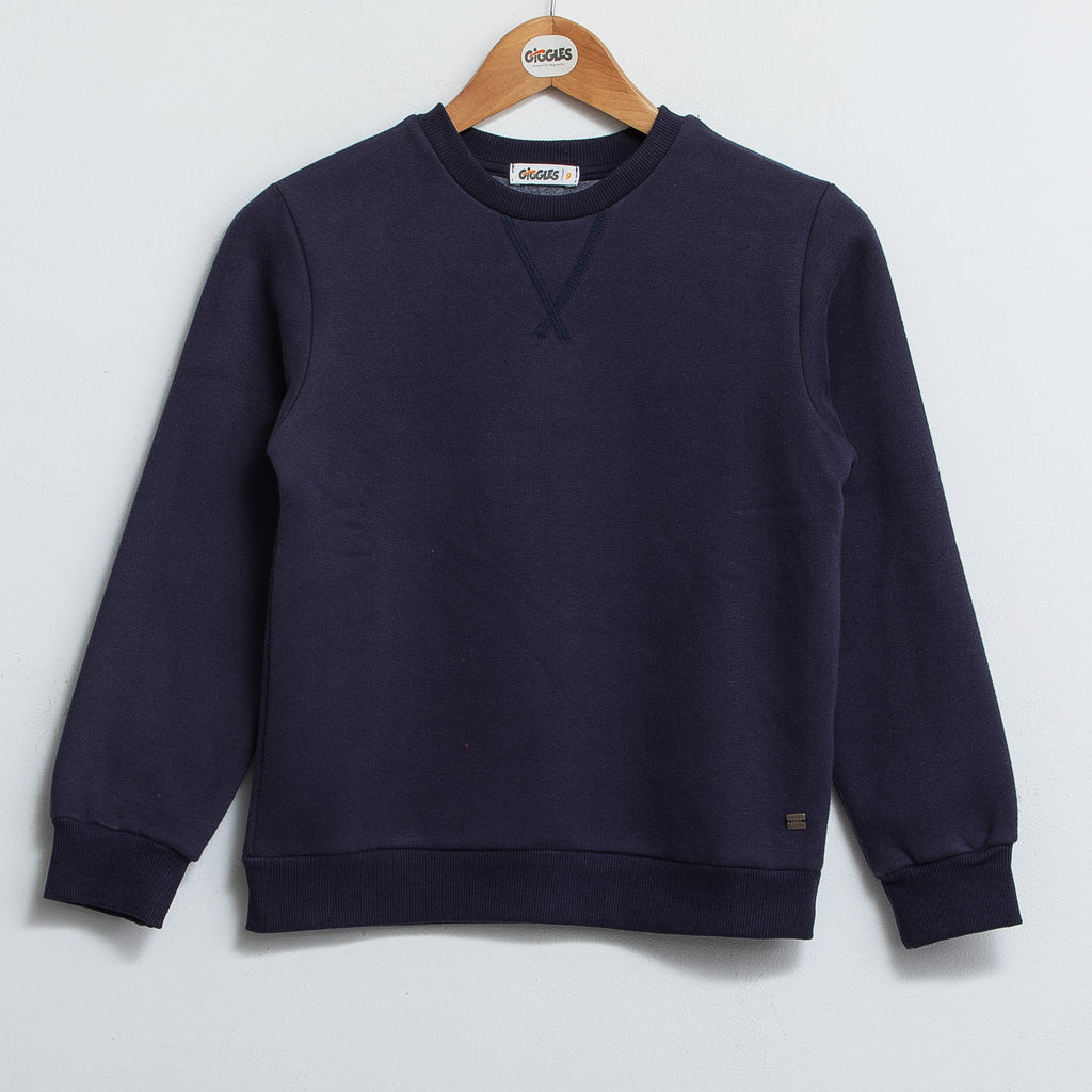Basic sweatshirt - Sky navy