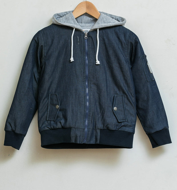 parka - Denim
