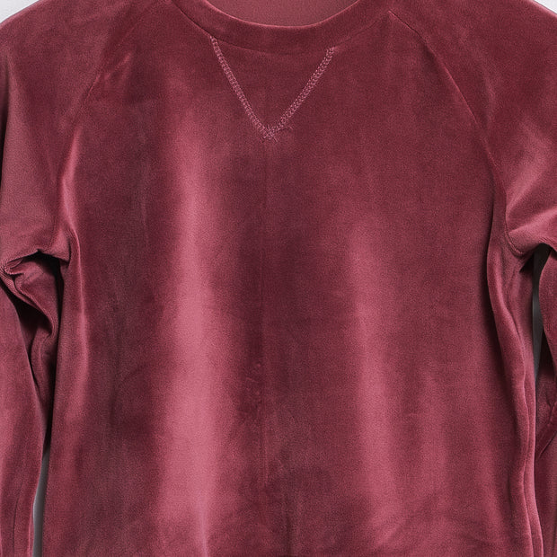 Basic sweatshirt - Burgundy