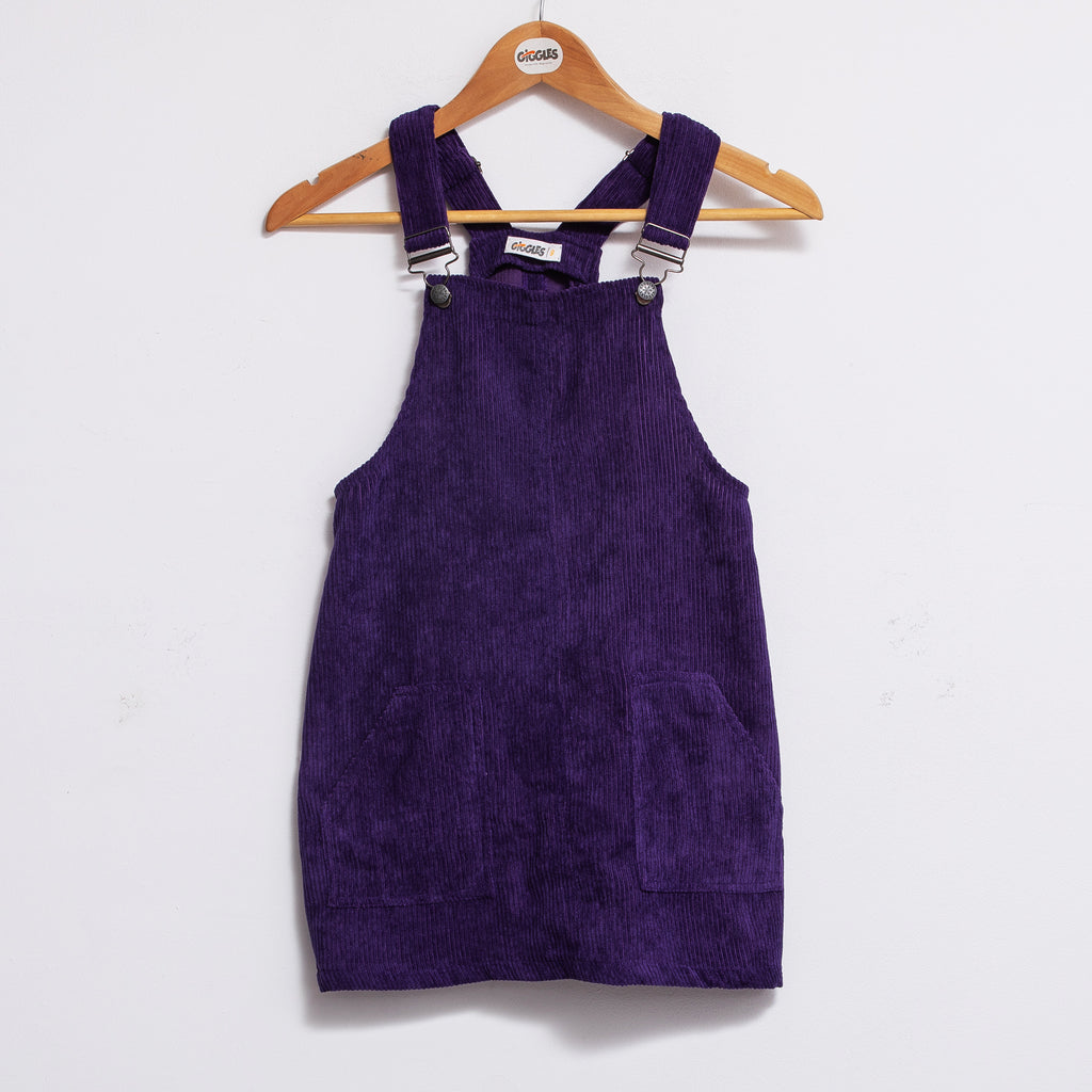 woven dress - Purpple