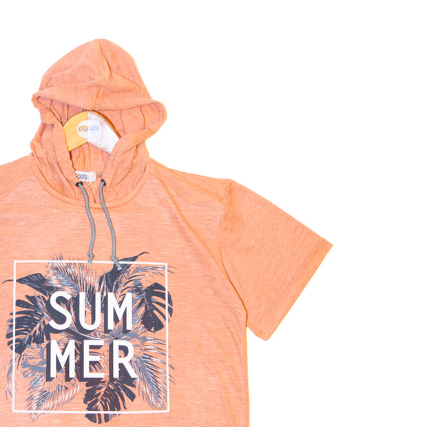 t-shirt - LIGHT ORANGE CHINE_434