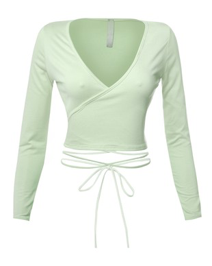 ANGIE TIE TOP MINT