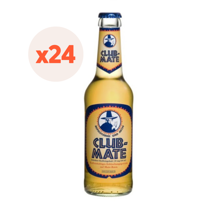 24 x Bebida Club Mate Original 330cc ($1.250 c/u)