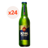 24x Cerveza Royal Guard botellín 355cc ($749 c/u)