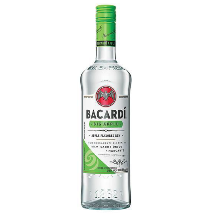 Ron Bacardí Big Apple 750cc
