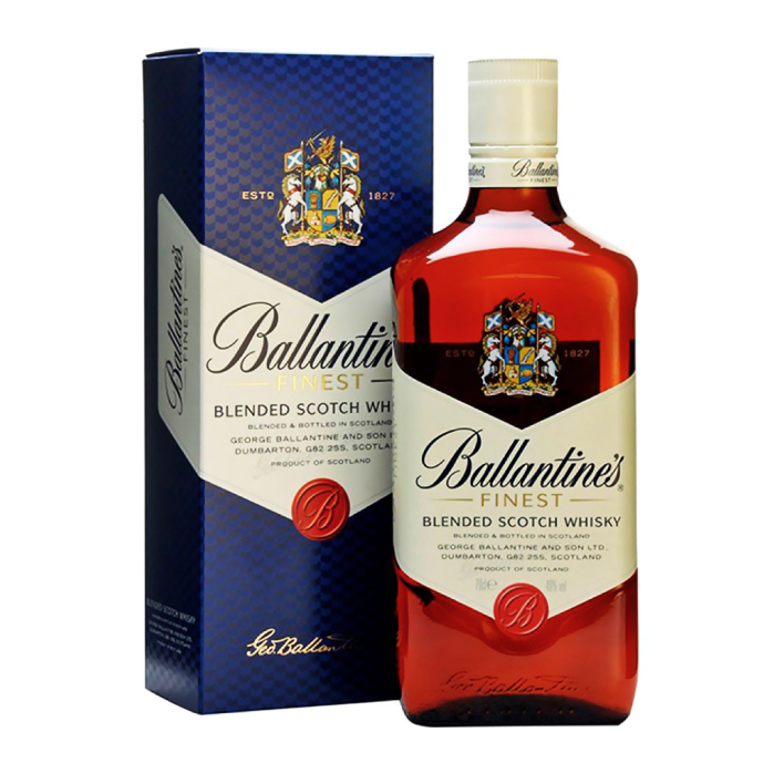 Whisky Ballantines Finest 40º botella 750cc