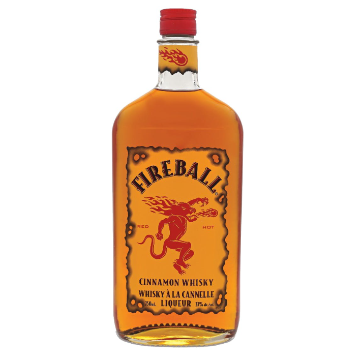 Whisky Fireball Cinnamon 750cc