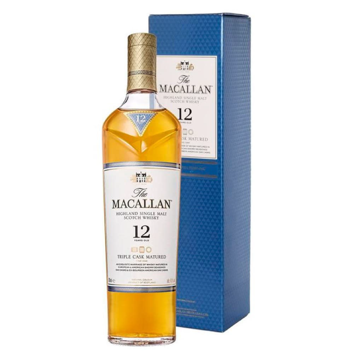 Whisky Macallan Triple cask 12 años 40º botella 700cc