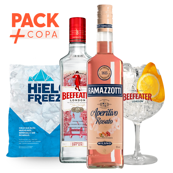 Pack Beefeater Ramazzotti + Copa Beefeater