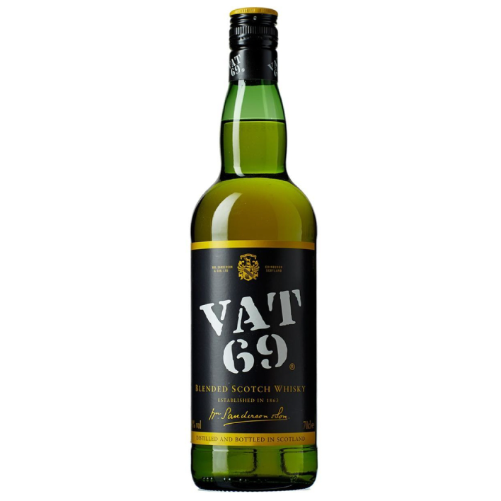 Scotch Whisky Vat 69 750cc