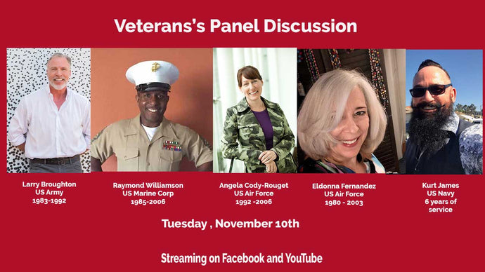 Veterans Panel on Tea Time Tuesday Show