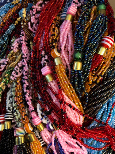 Dinah Seed Bead Necklace
